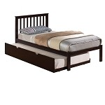 920Fe Twin Mission Bed Shown W/Trundle Unit