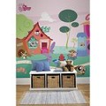 Littlest Pet Shop Chair Rail Prepasted Mural 6' X 10.5' - Ultra-Strippable