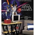 Star Wars Classic Chair Rail Prepasted Mural 6' X 10.5' - Ultra-Strippable