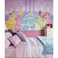 Perfect Princess Chair Rail Prepasted Mural 6' X 10.5' - Ultra-Strippable
