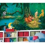 Lion King Chair Rail Prepasted Mural 6' X 10.5' - Ultra-Strippable