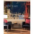 New York Street Chair Rail Prepasted Mural 6' X 10.5' - Ultra-Strippable