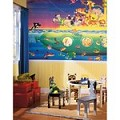 Noah'S Sub Chair Rail Prepasted Mural 6' X 10.5' - Ultra-Strippable