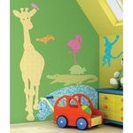 Animal Silhouettes (Colors) Peel & Stick Giant Wall Decals