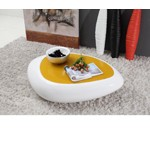 1156CT - Modern Yellow Ambient LED Coffee Table