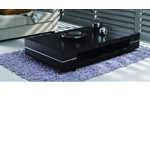 B680D - Modern Dark Ash Coffee Table