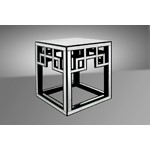 Linley - Transitional Mirrored End Table