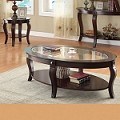 00450 3pc SET Coffee & End Table Set
