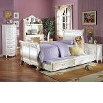 Pearl White Bedroom Set
