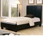 Black Bycast Full Size Bed