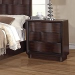 Travell Walnut Finish nightstand