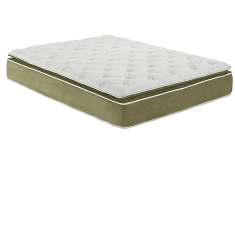 29066 Cicely Sage Suede Full size Pillow Top Mattress