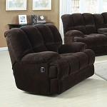 50477 Ahearn Chocolate Champion Rocker Recliner