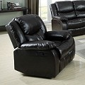 Fullerton Espresso Bonded Leather Match POWER MOTION Recliner