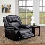 59008 Mitter Black Bonded Leather Match Redliner