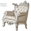 59125 Sanjay Silver Accent Chair