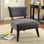 59163 Manrise Gray Finish Accent Chair