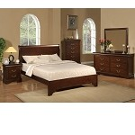 West Haven California King Low Footboard Sleigh Bed