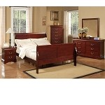 Louis Philippe Ii 2 Drawer Nightstand