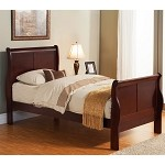Louis Philippe Ii Twin Size Sleigh Bed