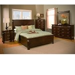 Windsor 3 Drawer Nightstand In Cherry