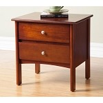 Costa Nightstand With 2 Drawers