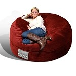Mod Pod Classic 5' Lounger - Deluxe Cord Berry 32-6503-1104