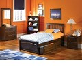 Brooklyn Bedroom Set Antique Walnut