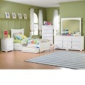 Manhattan Bedroom Set Antique White