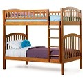 Richmond Bunk Bed Twin Over Twin in Latte Finish
