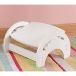 Adjustable Stool for Nursing - White