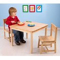 Aspen Table and Chair Set - Natural