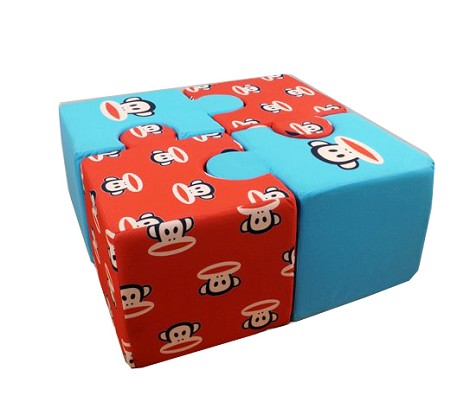 Paul Frank Puzzle Blue- Red