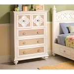 Paris Youth Chest of Drawers Pearl
