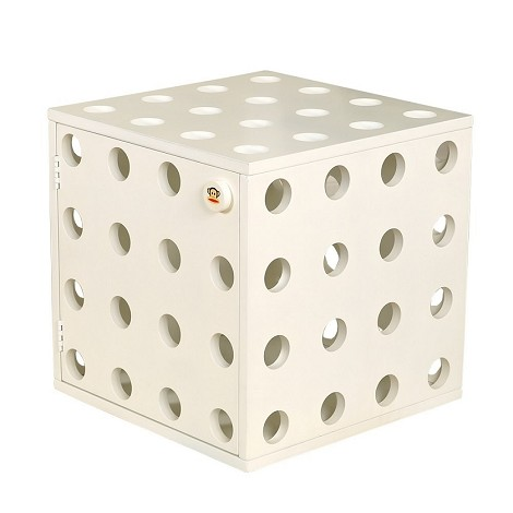Paul Frank® Stackable Cube White