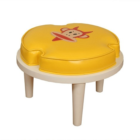 Paul Frank®Stackable Ottoman Orange