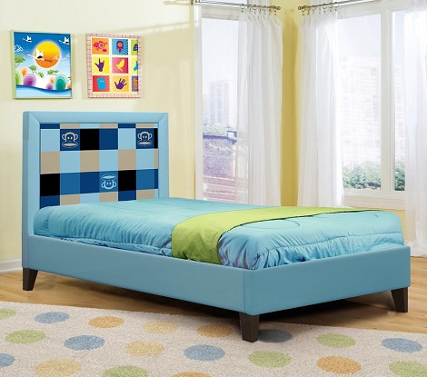 Paul Frank® Plaid Bed Blue