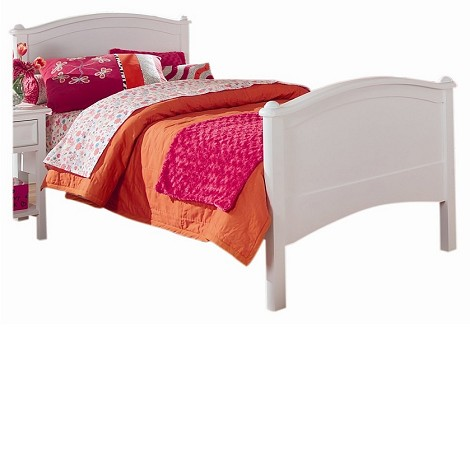 Cooley Twin Bed-White