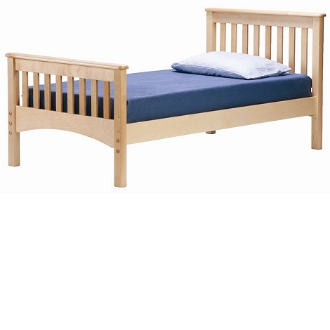 Mission Twin Bed Natural
