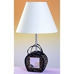 Cal Lighting 60W Purse W/ Mirror