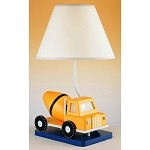 Cal Lighting 60W Construction  Truck W/ Nite Light Lamp