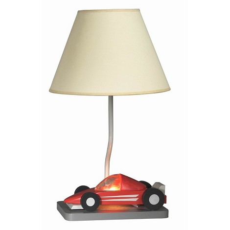 Cal Lighting 60W Formula One Race Car With 7W Night Light
