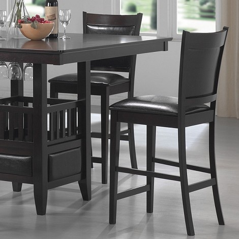 100959 Jaden Square Counter Height Stool (set of 2)