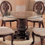 101030 Davina Round Dining Table