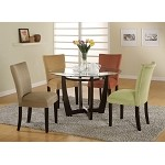 101490 Bloomfield 5 Piece Round Dining Set