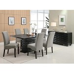 102061 Stanton Contemporary Dining Set GREY