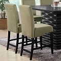 102069 Stanton Counter Chair Green (set of 2)