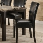 102264 Carter Dining Chair - Black (set of 2)