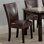 102263 Carter Dining Chair - Brown (set of 2)