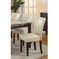 102264 Carter Dining Chair - Cream (set of 2)